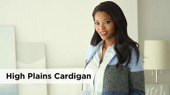 Lion Brand High Plains Cardigan