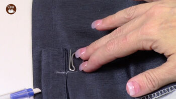 How To Use Dritz Home Pin On Drapery Hooks