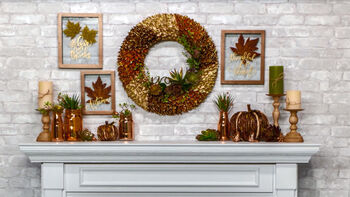 How To Decorate Your Mantle for Fall