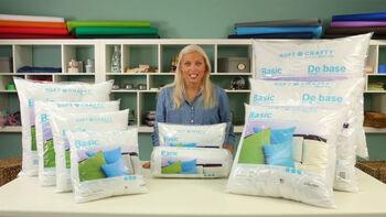 Soft n Crafty Basic Pillows