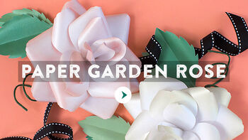 Paper Garden Rose