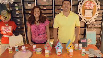 The 8 Original Mod Podge Products with Cathie and Steve