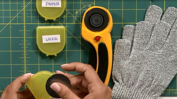 How to safely use, maintain and dispose Olfa Rotary Cutter Blades