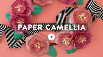Lia Griffith Paper Camellia Video