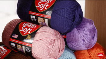 Red Heart Soft Yarn is Right For All Types of Projects