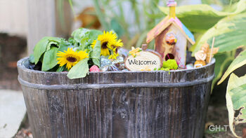 Good Housekeeping's Meaghan Murphy Crafts a Magical Fairy Garden