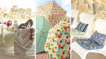 Outdoor Fabrics for Your Home & Fashion Crafting with Better Homes & Gardens