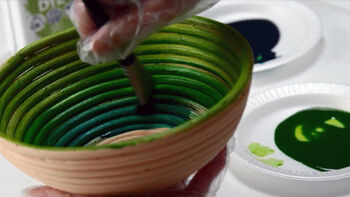 Ultra Dye Painted Decorative Bowls Video