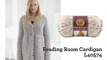Reading Room Cardigan Project