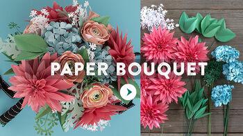 Lia Griffith Paper Spring Bouquet Video