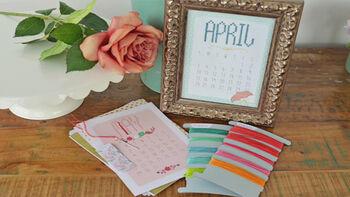 Crafternoon Cross Stitch Calendar