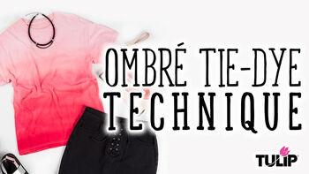 Tulip Ombre Tie Dye Technique Video