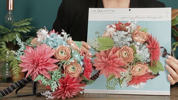 Lia Griffith Paper Hydrangea Bouquet Video