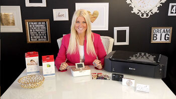 The Canon Selphy Photo Printer with Teresa Collins