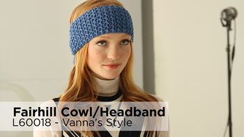 Lion Brand Fairhill Cowl And Headband