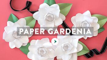Lia Griffith Paper Gardenia Video