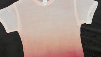Tulip White-to-Wow Tie Dye Crumple T-shirt