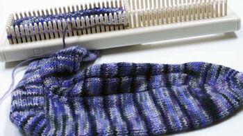 KB Extra Fine Gauge Sock Loom Video