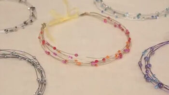 Create a DIY Bead Headband With Wire