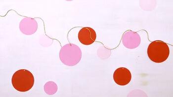 Holiday Circle Garland from Martha Stewart Crafts