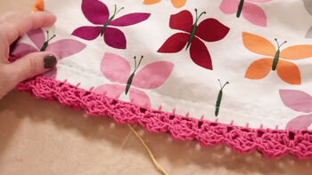 Learn how to attach crochet edgings and give your fabric projects that extra edge