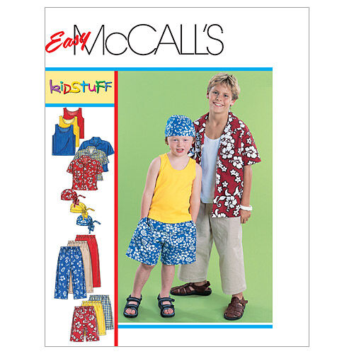 Kids 1950s Clothing & Costumes: Girls, Boys, Toddlers McCalls Boys Activewear - M6099 $13.95 AT vintagedancer.com