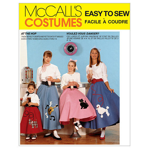 1950s Sewing Patterns | Dresses, Skirts, Tops, Mens McCalls Mother  Daughter Costumes - M6101 $13.95 AT vintagedancer.com