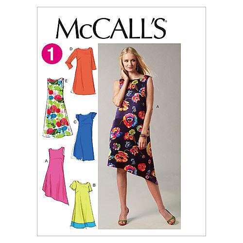 1960s – 70s Sewing Patterns- Dresses, Tops, Pants, Mens McCalls Misses Dress - M6465 $18.95 AT vintagedancer.com
