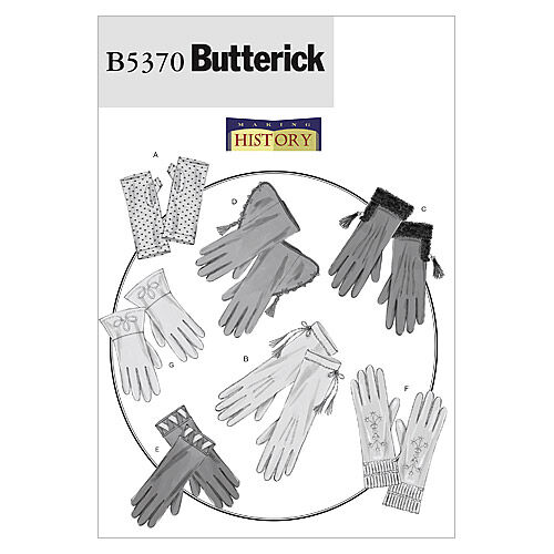 Edwardian Sewing Patterns- Dresses, Skirts, Blouses, Costumes Butterick Misses Historical Costumes - B5370 $16.95 AT vintagedancer.com