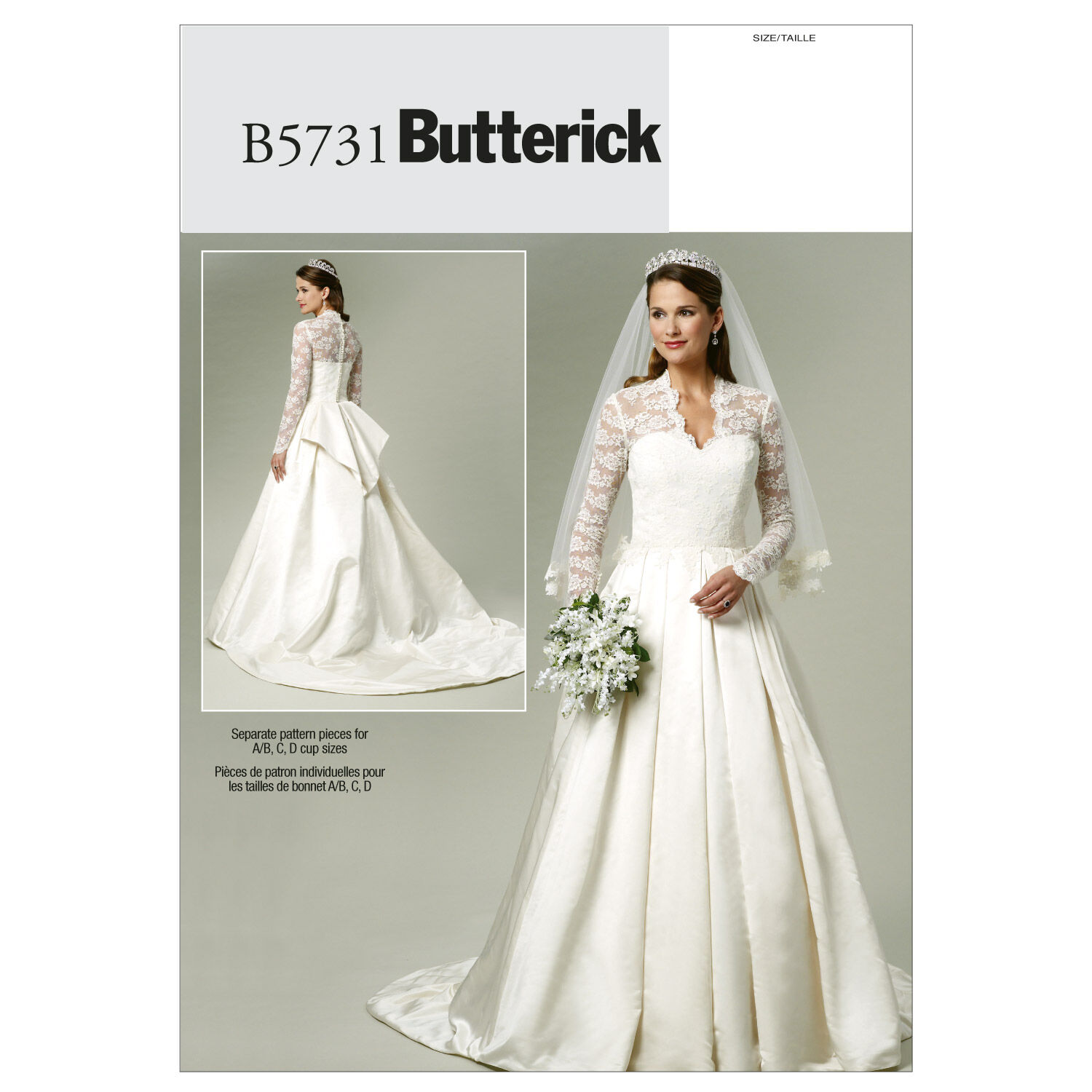 1940s Clothing Butterick Misses Bridal - B5731 $19.95 AT vintagedancer.com