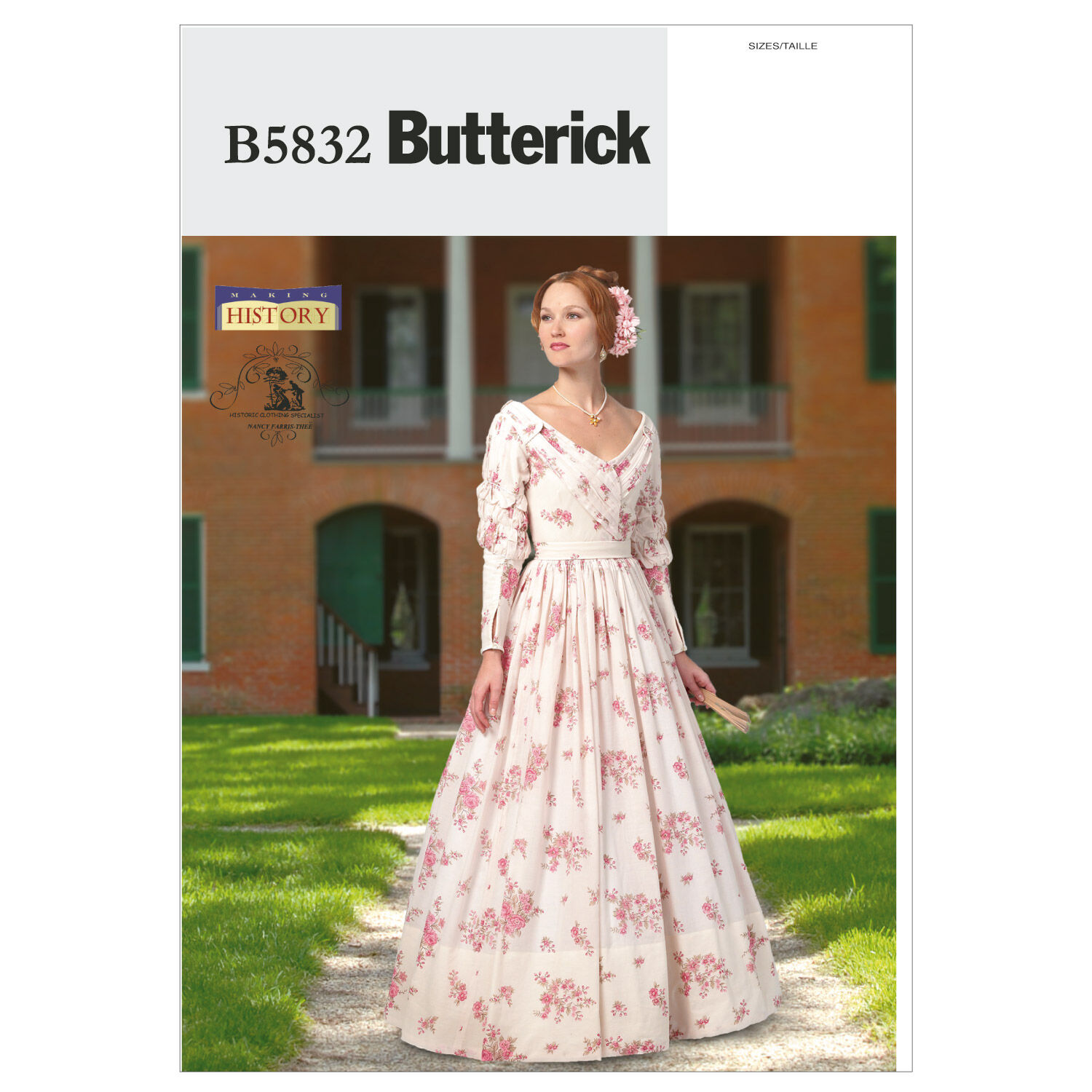 Steampunk Sewing Patterns- Dresses, Coats, Plus Sizes, Men's Patterns Butterick Misses Historical Costumes - B5832 $19.95 AT vintagedancer.com