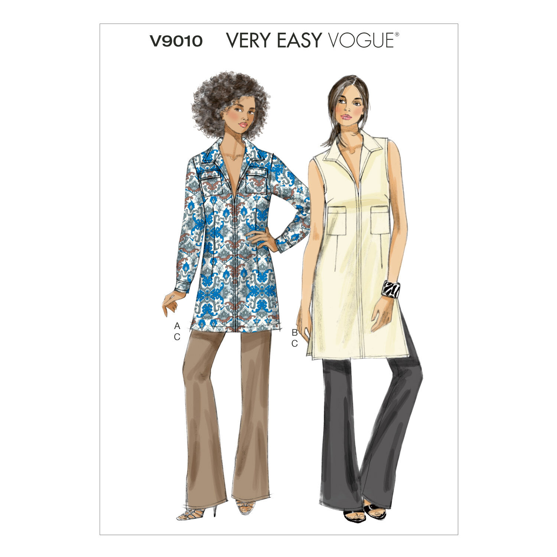 1960s – 70s Sewing Patterns- Dresses, Tops, Pants Mccall Pattern V9010 6 - 8 - 10 - 12 - - Vogue Pattern $25.00 AT vintagedancer.com