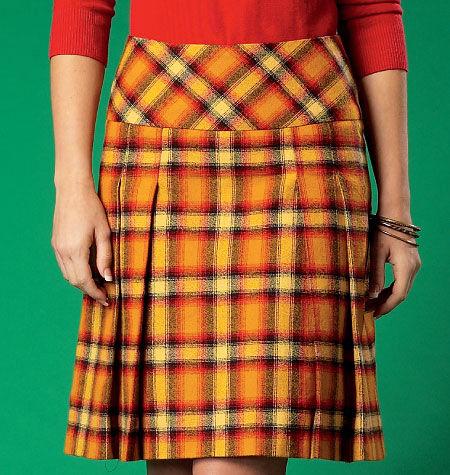 1960s – 70s Sewing Patterns- Dresses, Tops, Pants McCalls Misses Skirt - M7022 $17.95 AT vintagedancer.com