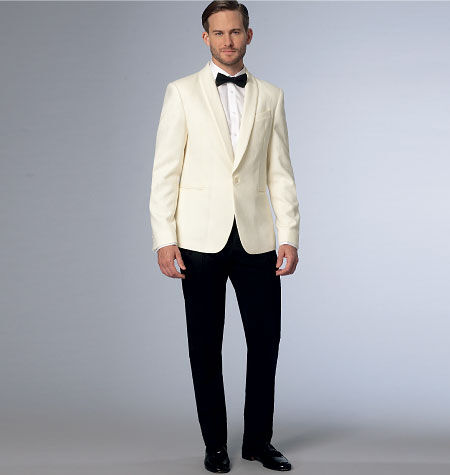 Men's Vintage Reproduction Sewing Patterns Vogue Patterns Mens Suits - V9097 $30.00 AT vintagedancer.com