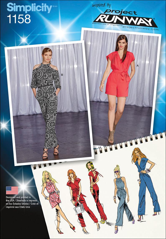 1960s – 70s Sewing Patterns- Dresses, Tops, Pants Simplicity Pattern 1158R5 14 - 16 - 18 - 2 - Dresses $19.95 AT vintagedancer.com