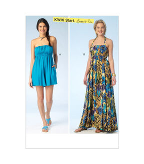 1960s – 70s Sewing Patterns- Dresses, Tops, Pants Kwik Sew Misses Casual - K4100 $11.99 AT vintagedancer.com