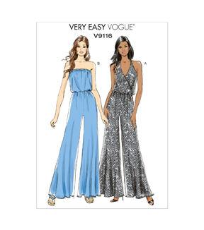 1960s – 70s Sewing Patterns- Dresses, Tops, Pants Vogue Patterns Misses Casual - V9116 $25.00 AT vintagedancer.com
