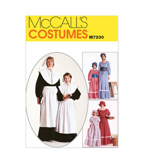 10 Things to Do with Vintage Aprons McCalls - Pattern M7230 - MissesGirls Costumes - Sizes 8-10 - Patterns - At JOANN Fabrics  Crafts $13.95 AT vintagedancer.com