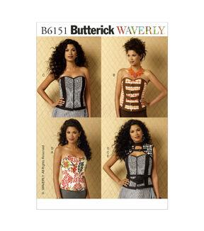Steampunk Sewing Patterns- Dresses, Coats, Plus Sizes, Men's Patterns Butterick Misses Historical Costumes - B6151 $19.95 AT vintagedancer.com