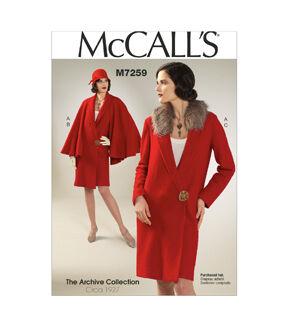 1920s Patterns – Vintage, Reproduction Sewing Patterns McCalls Misses Outerwear - M7259 $19.95 AT vintagedancer.com