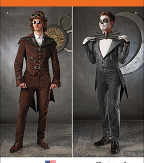 Men's Steampunk Pants & Trousers Simplicity - Patterns 1039 - Mens Cosplay Costumes - Sizes 46-48-50-52 - Costumes - At JOANN Fabrics  Crafts $20.95 AT vintagedancer.com