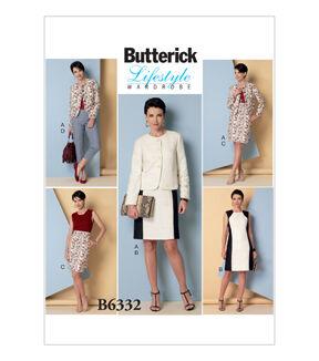 1960s – 70s Sewing Patterns- Dresses, Tops, Pants Butterick Misses Suits - B6332 $19.95 AT vintagedancer.com