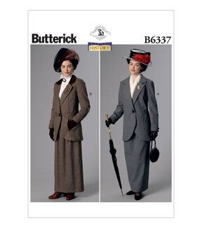 1920s Patterns – Vintage, Reproduction Sewing Patterns Butterick Misses Historical Costumes - B6337 $19.95 AT vintagedancer.com