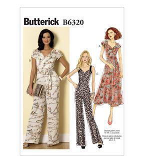 1960s – 70s Sewing Patterns- Dresses, Tops, Pants, Mens Butterick Misses Dress - B6320 $19.95 AT vintagedancer.com