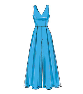 1960s – 70s Sewing Patterns- Dresses, Tops, Pants, Mens McCalls Pattern M7608 Misses Romper  Jumpsuits - Size 14 - 16 - 18 - 20 - 22 $18.95 AT vintagedancer.com
