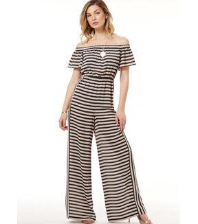 1960s – 70s Sewing Patterns- Dresses, Tops, Pants, Men's McCalls Pattern M7609 Misses Off the Shoulder Rompers  Jumpsuits $13.26 AT vintagedancer.com