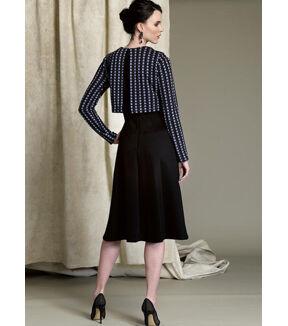 1960s – 70s Sewing Patterns- Dresses, Tops, Pants, Mens Vogue Pattern V1512 Misses Popover Midi Dress - Size 6 - 8 - 10 - 12 - 14 $19.20 AT vintagedancer.com