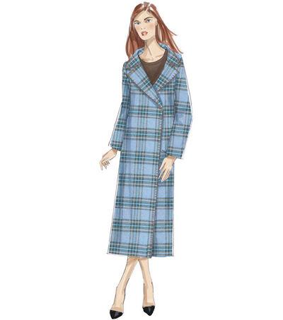 1930s Vintage Dresses, Clothing & Patterns Links Vogue Pattern V9231 Misses Shawl or Notch Collar Coats - Size 4 - 14 $15.00 AT vintagedancer.com
