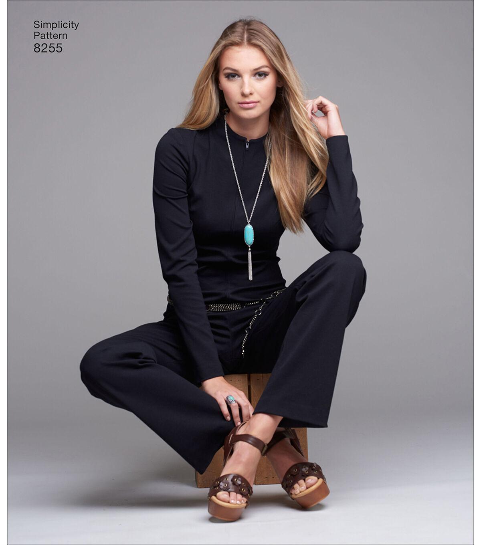 1960s – 70s Sewing Patterns- Dresses, Tops, Pants, Mens Simplicity Pattern 8255 Misses Vintage Jiffy Jumpsuit - Size P5 12 - 20 $12.57 AT vintagedancer.com