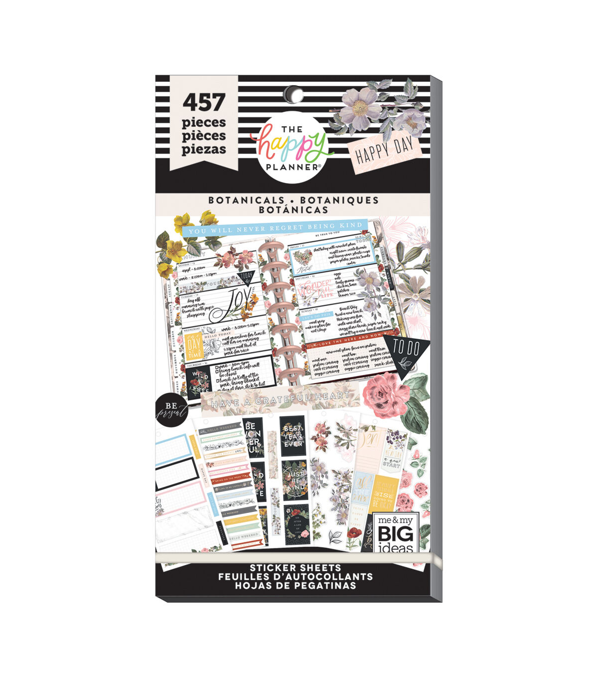 Vintage Botanical Happy Planner sticker book - finally available